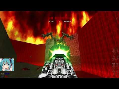 Brutal Doom V21 : ICON OF SIN VS CYBERDEMON - смотреть онлайн на Hah