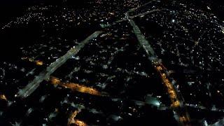 """Prueba de altura de noche con el hubsan h501s """"170m"""""""