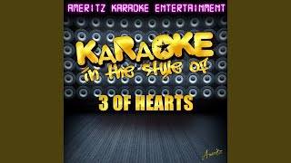 Love Is Enough (In the Style of 3 of Hearts) (Karaoke Version)