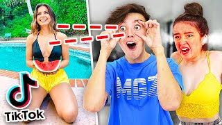 EYE TRACKER Challenge vs TIKTOK GIRLS! w/Girlfriend