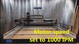 ROBO-SHOP High Speed CNC router USES Fast Ball Screws – better than rack and pinion!