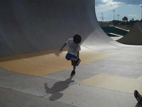 Starring NJK @ Velodrome Skate Park 10 1 09