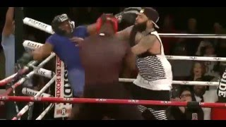 Big Brody vs Tyrone - Celebrity Boxing FULL FIGHT