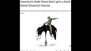 US Fracking Industry is Losing Epic Amounts of Money