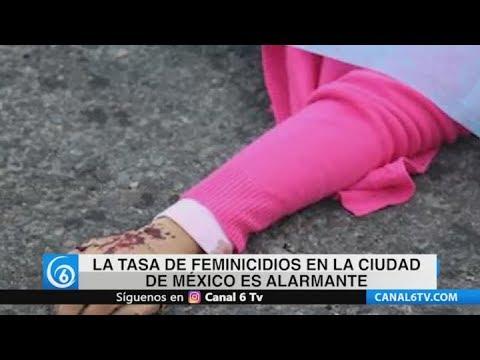 La tasa de feminicidios en la CDMX es alarmante