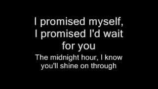 basshunter i promised myself lyrics