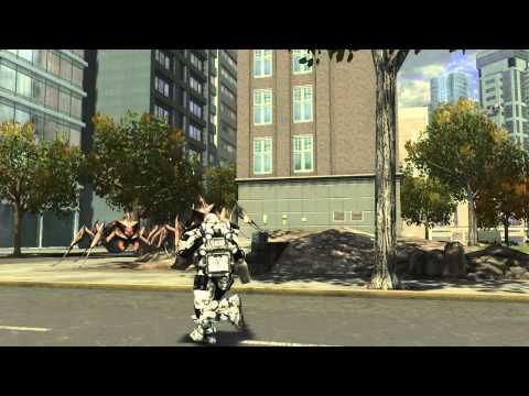Saving the Planet in Earth Defense Force Seems to Require Blowing it up First