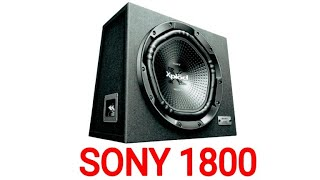 SONY XS-NW12002 12 INCH SVC SUBWOOFER