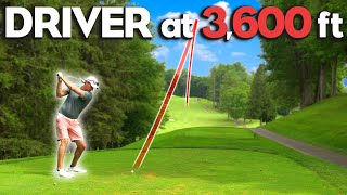 Golfing At 3,600 Feet! | Course Vlog | Front 9 Linville Land Harbor Golf Club | Part 1