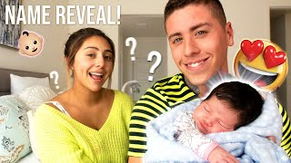 OUR OFFICIAL BABY NAME REVEAL!!!
