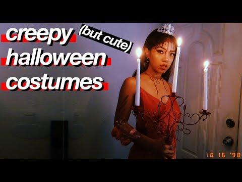 SCARY BUT CUTE Halloween Horror Costumes!   DIY   Nava Rose
