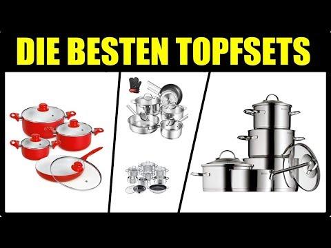 DIE BESTEN KÜCHEN TOPFSETS 2018 ★ Kochtopf Test ★ Küchen Töpfe Test ★ WMF Topfset, Silit Topfset...