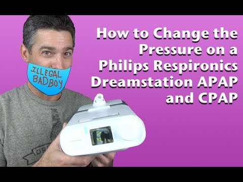 Download Changing The Pressure Of a Respironics Dreamstation APAP and CPAP, and DME Message Mp4 HD Video and MP3