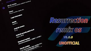 Resurrection Remix v6-0-0 Unofficial Oreo ROM For Redmi 2prime