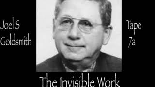 The Invisible Work By Joel S Goldsmith