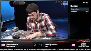 Pro Tour Fate Reforged Semifinals: Jesse Hampton vs. Justin Cohen