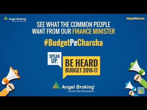 Angel Broking finds out what public wants to tell the Finance Minister #BudgetPeCharcha