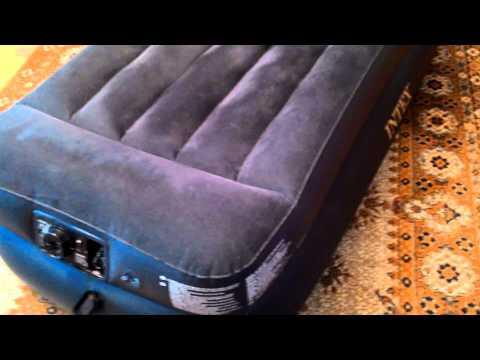 Надувной матрас Intex с мотором