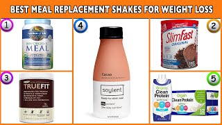 Best Meal Replacement Shakes 2020 | Weight Loss With Energy Boost