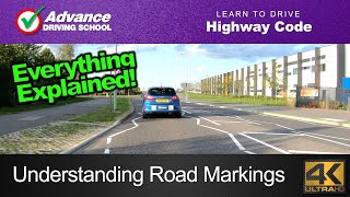 Understanding Road Markings  |  Learn to drive: Highway Code