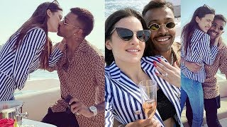Hardik Pandya ENGAGED To Girlfriend Natasa Stankovic On His Private Yacht!