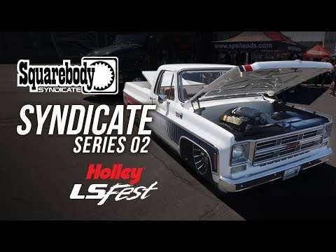 SquareBody Syndicate Series 02 1976 GMC Sierra Grande 15 Truck - Holley LS Fest West