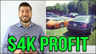 How I Made $4000 Selling My Mercedes Benz E55 AMG