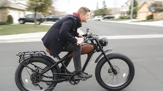 This E–Bike is Basically just a Motorcycle You Don't Need a License For