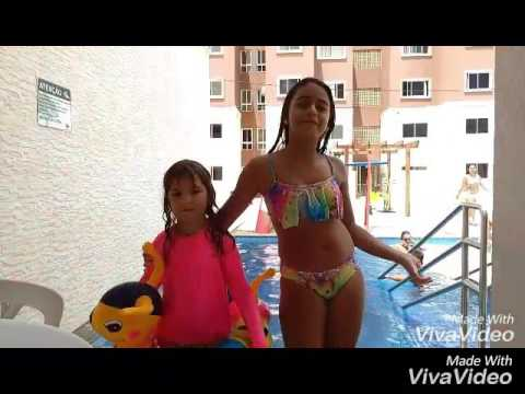 Desafio fale qualquer coisa na piscina ft.Isabelle