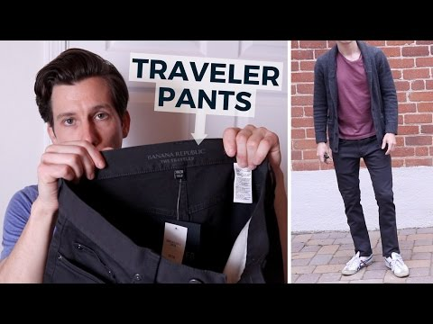 Why I'm Retuning My Banana Republic Traveler Pants