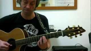 """Diva Lady"" by Divine Comedy (solo guitar cover by Jordi Artigas)"