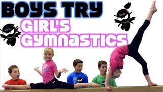 BOYS try GIRL