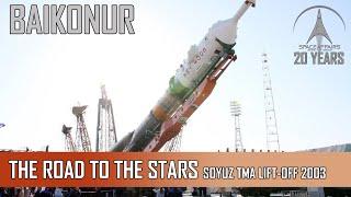 Soyuz TMA LiftOff Baikonur
