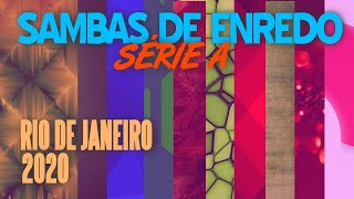 CD SAMBAS SÉRIE A 2020 CARNAVAL RJ