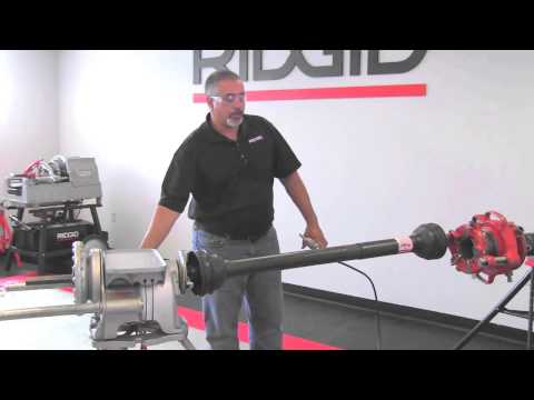 ... Instructional Overview - 141 u0026 161 Threader-Driveshaft Method & Parts | Receding Geared Threaders | RIDGID Store