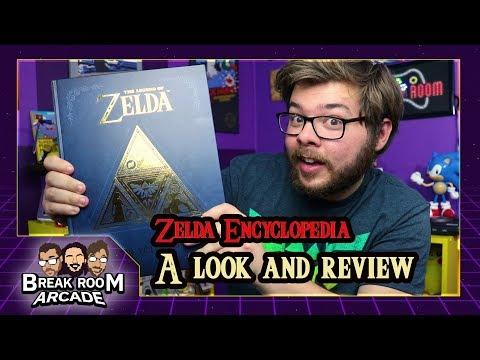 The Legend of Zelda Encyclopedia: A Look and Review | Break Room Arcade