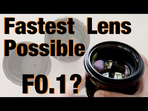 What is the Fastest Lens POSSIBLE?