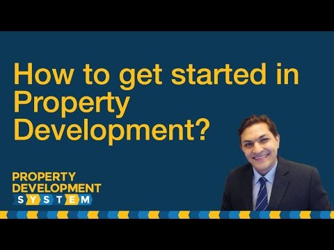 How to get started in property development? - YouTube