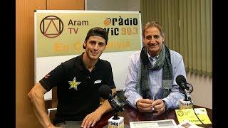 Joan Cros visita Aram TV y Ràdio Vic