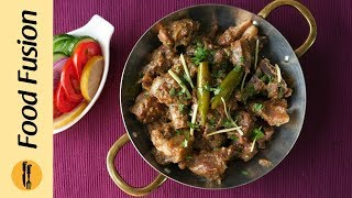Mutton White Karahi Recipe By Food Fusion