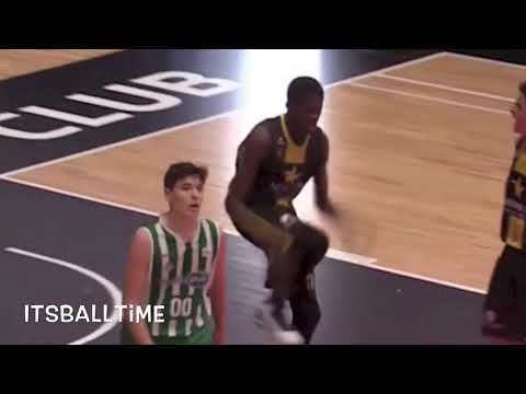 THIRTEEN YEAR OLD Berthold Eluku IS BALLIN | Amazing Dunks | (2004)