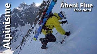 Abeniflue Face Nord 3962 m - Alpinisme