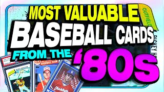 Top 25 Most Valuable Baseball Cards from the 1980's - Update with giveaway!
