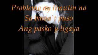 Pasko ay para sa akin at sa iyo by donna cruz with lyrics.
