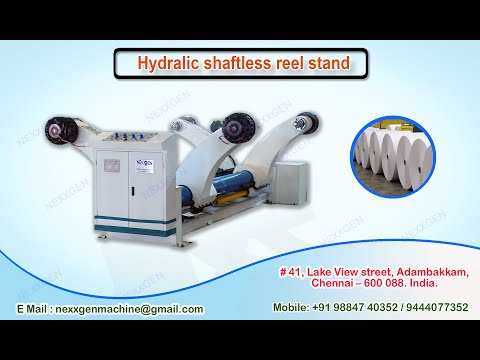 Hydraulic Shaftless Reel Stand