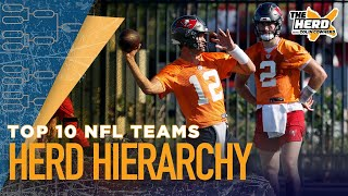 Herd Hierarchy: Colin Cowherd ranks his top 10 NFL teams heading into training camp | NFL | THE HERD