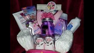 🦄👶🏾 Baby Shower Gift Basket Tutorial 👶🏾🦄 + BONUS Christmas DIY🎄