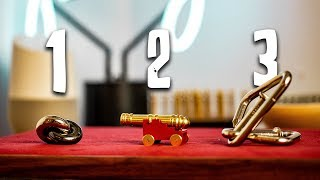 Solving the Canon, Donut & Nail Puzzles!!
