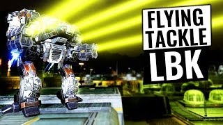 A FLYING LINEBACKER?! - Mechwarrior Online 2017 MWO - TTB