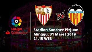 Live Streaming dan Jadwal Laga Sevilla Vs Valencia di HP via MAXStream beIN Sports